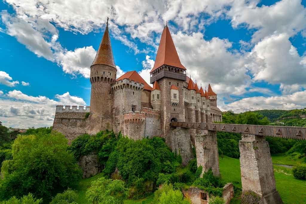Famous Medieval Castles Hunyadi-Castle
