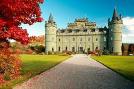 Best Scottish Castles INVERARAY-CASTLE