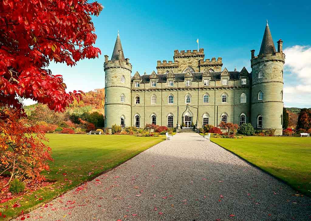 Best Scottish Castles INVERARAY-CASTLE