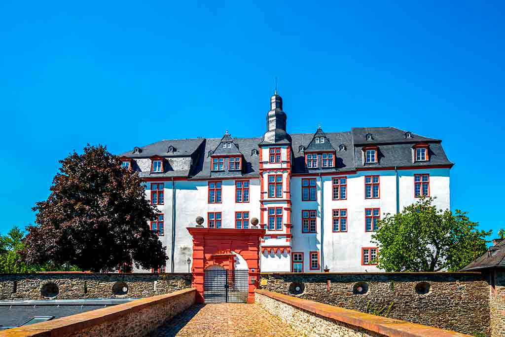 Castles in Germany Idstein-Castle
