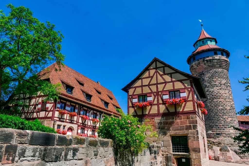 Medieval Castles Kaiserburg-Nürnberg