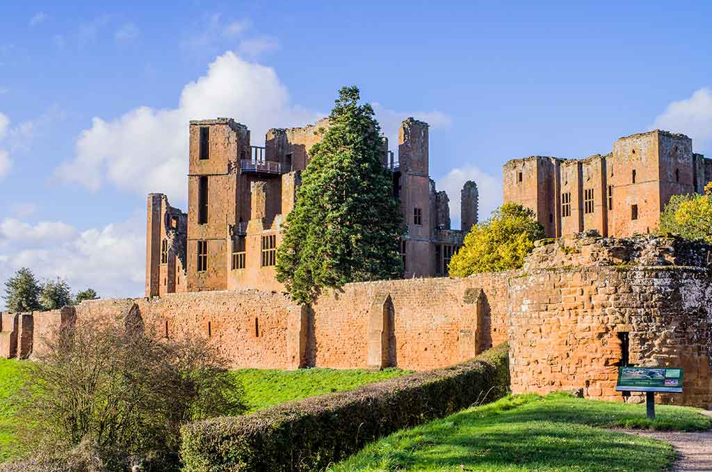 Castles in England Kenilworth-Castle