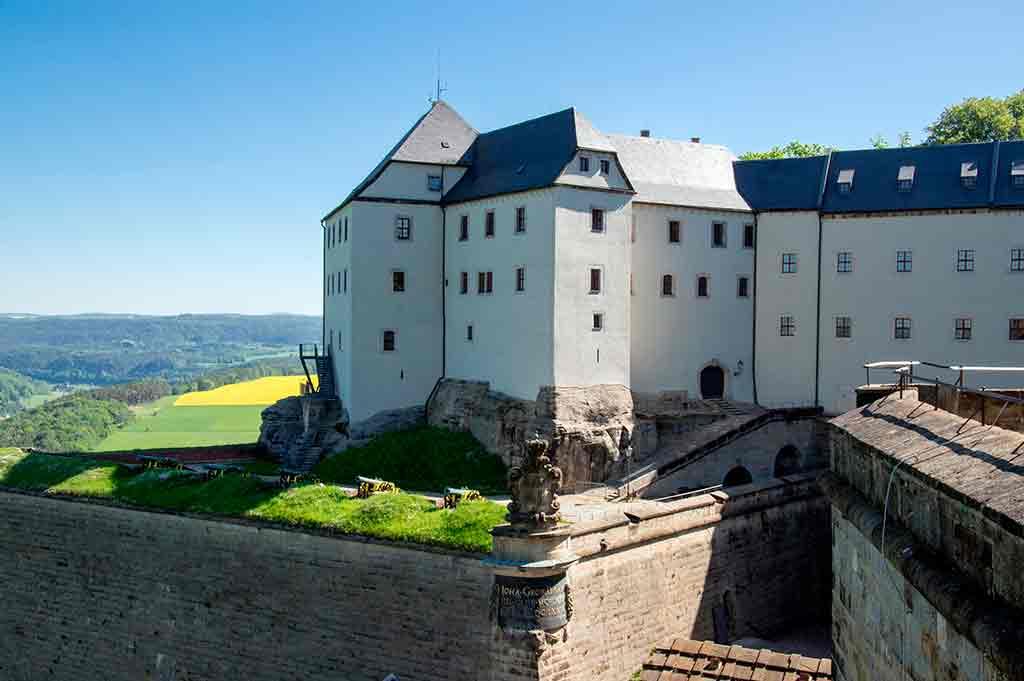 German Castles Konigstein-Fortress