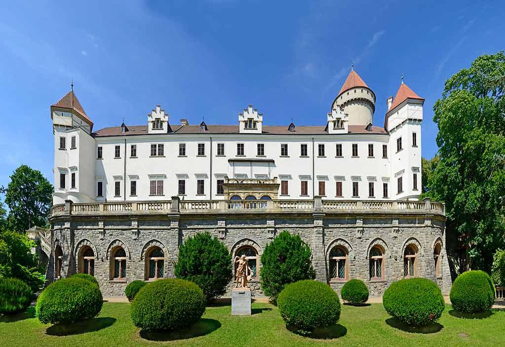 Czech Castles Konopiste Chateau