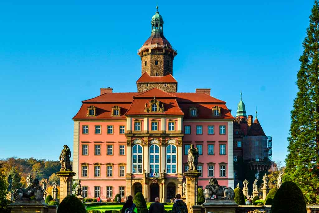 Famous European Castles Ksiaz-Castle