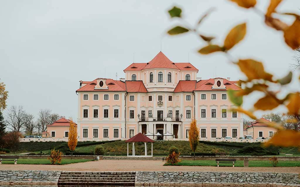 Best Castles in Czech Liblice Castle