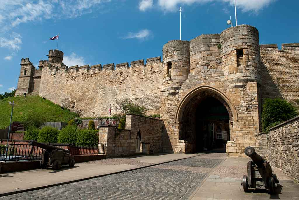 Castles in England Lincoln Castle