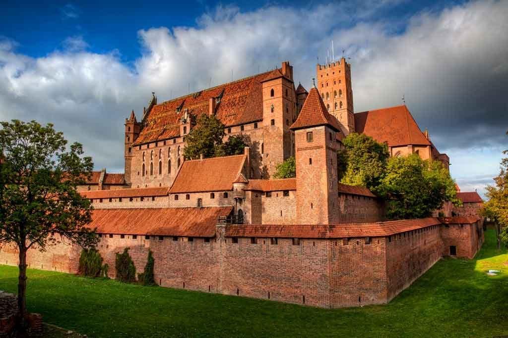 European Castles Malbork-Castle