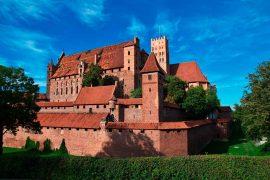 Medieval Castles Malbork-Castle
