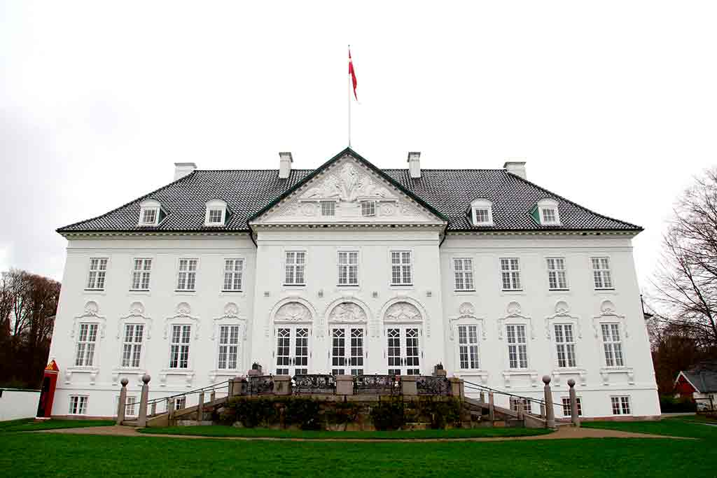Famous Castles in Denmark Marselisborg Palace