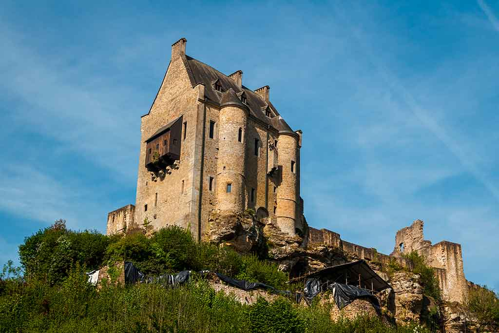 Famous Castles in Luxembourg Mersch-Castle
