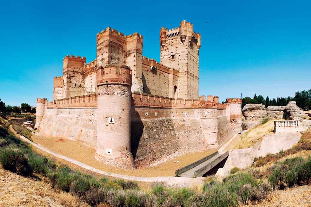 Castles in Spain Mota