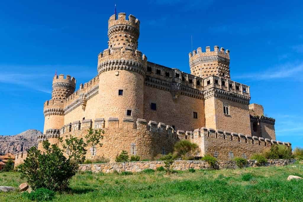 Best Castles in Spain New-Castle-of-Manzanares-el-Real