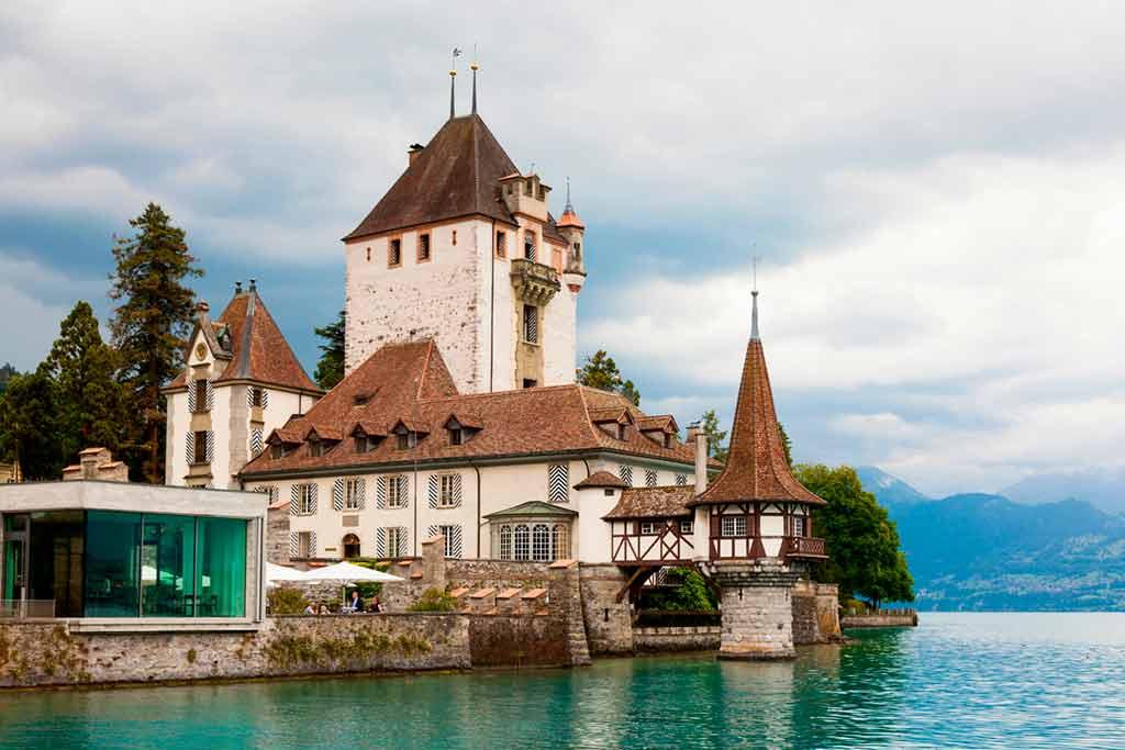 Swiss Castles Oberhofen-Castle