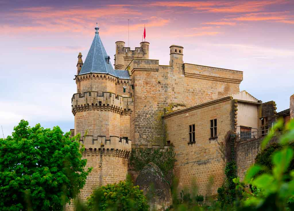 Spanish Castles Palace-of-the-Kings-of-Navarre-of-Olite