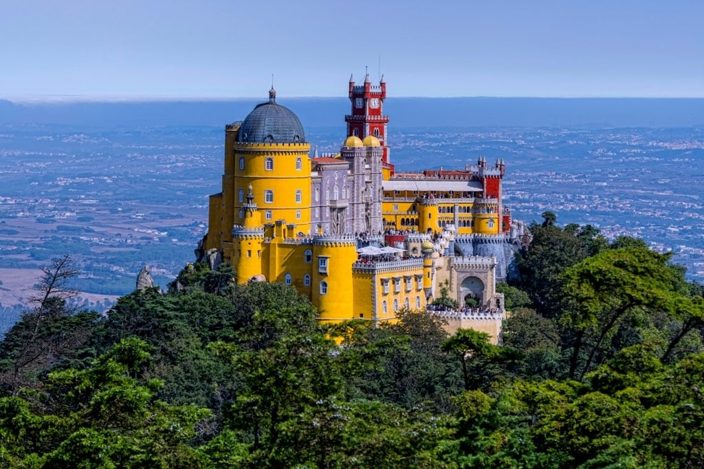 best castles in Europe - Pena Palace Portugal