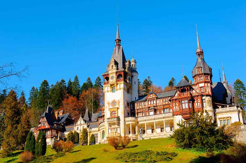 Best Romanian Castles Peles-Castle