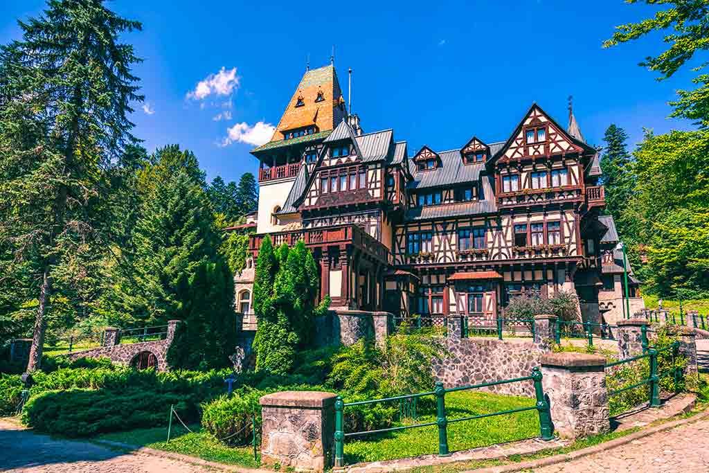 Best castles in Romania Pelișor-Castle
