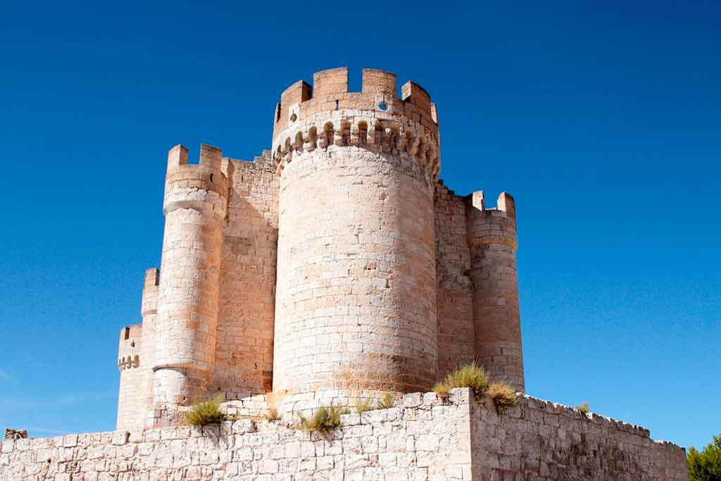 Famous Castles in Spain Penafiel-Castle