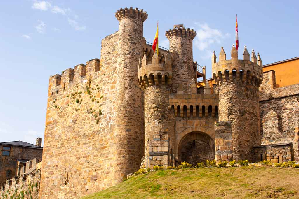 Best Castles in Spain Ponferrada