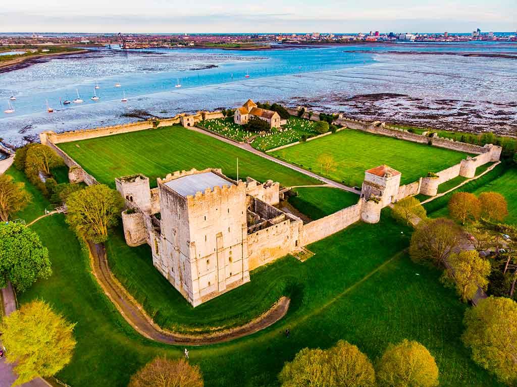 Famous Castles in England Portchester-castle