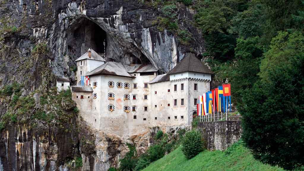 Medieval Castles Predjama-Castle