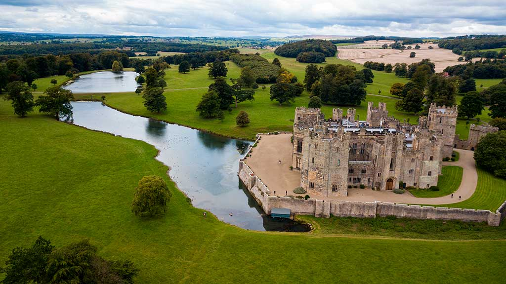 Famous Castles in England Raby Castle
