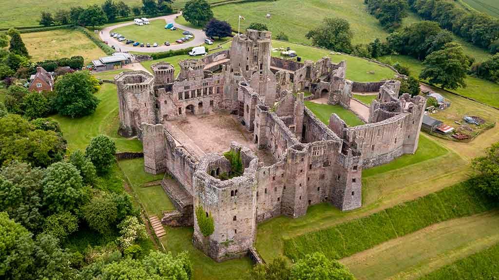 Welsh Castles Raglan-Castle