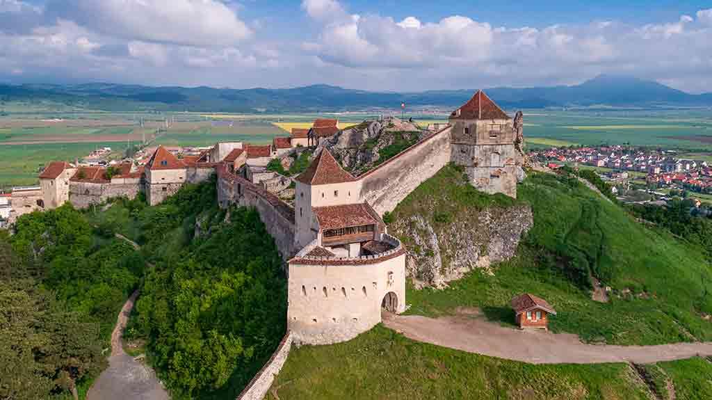 Romanian Castles Rașnov-Fortress