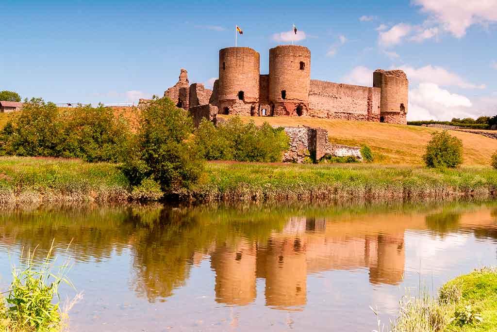 Famous Castles in Wales Rhuddlan-Castle