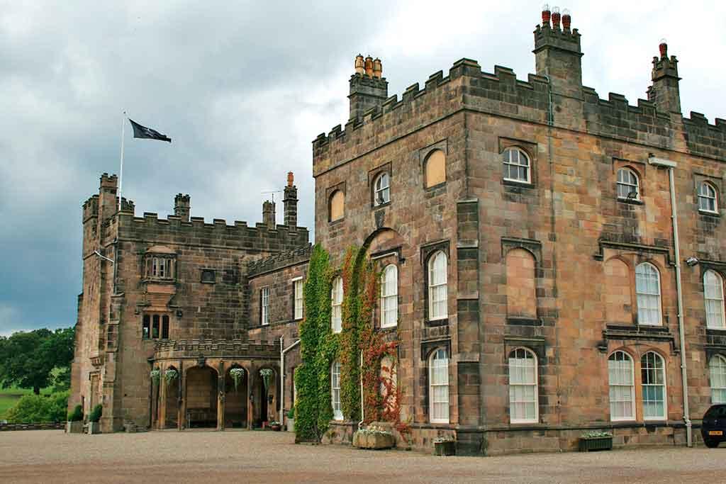 Famous Castles in England Ripley Castle