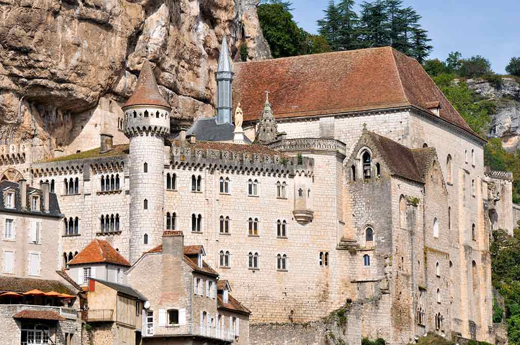 Castles in France Rocamadour