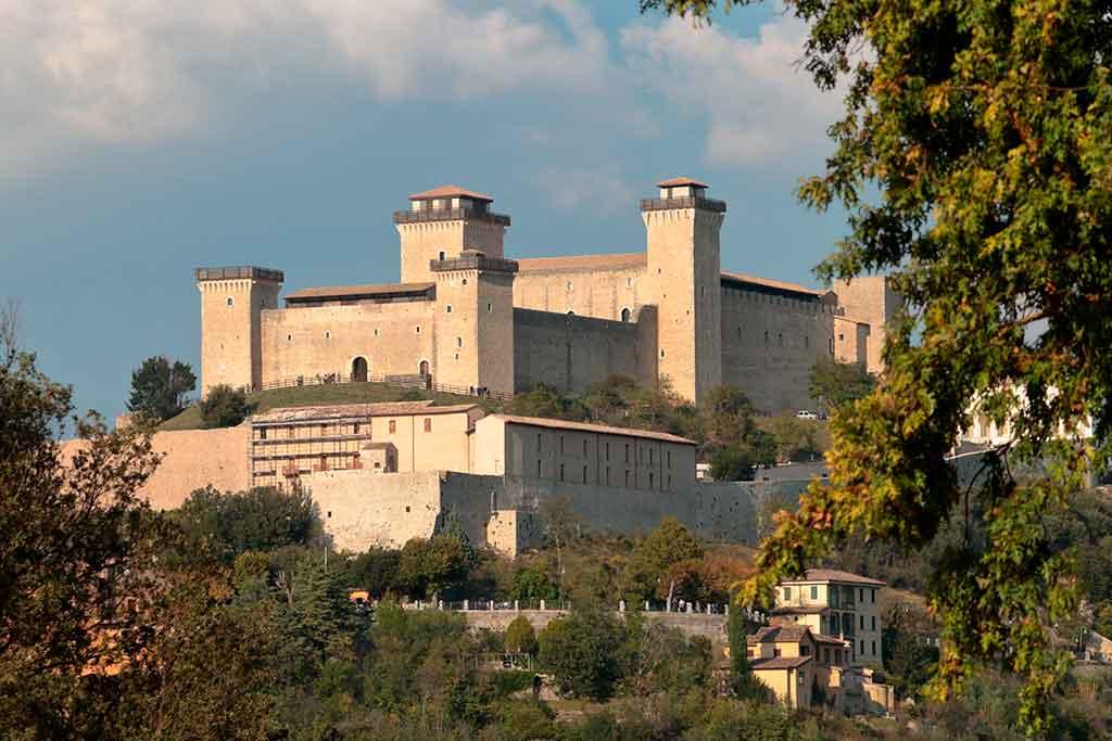 Italian Castles Rocca-Albornoziana