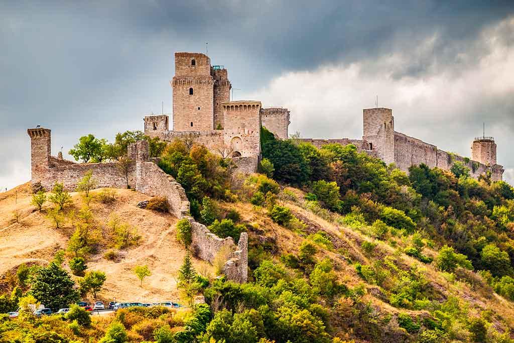 Famous Castles in Italy Rocca-Maggiore