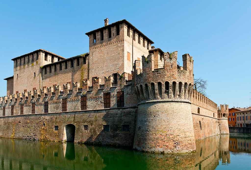 Famous Castles in Italy Rocca-Sanvitale