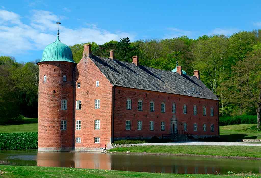 Denmark Castles Rosenvold castle