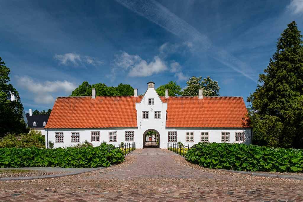 Castles in Denmark Schackenborg castle