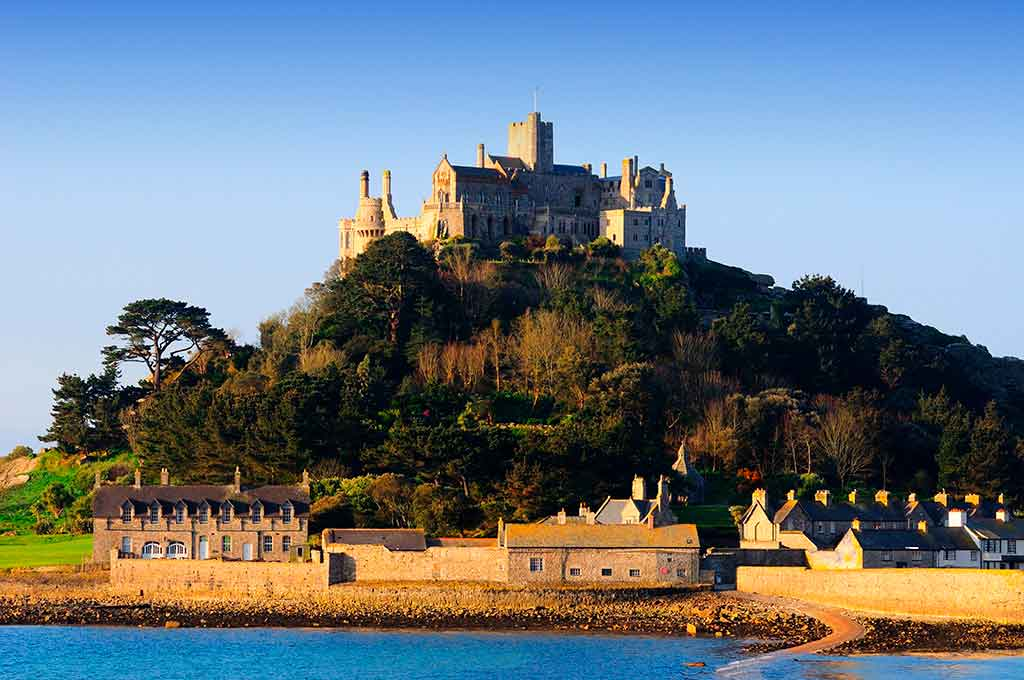 Famous Castles in England St-Michael's Mount