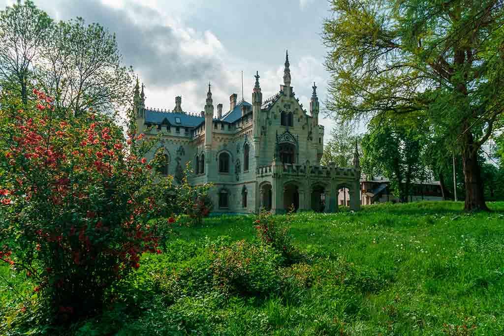 Best Romanian Castles Sturdza-Castle