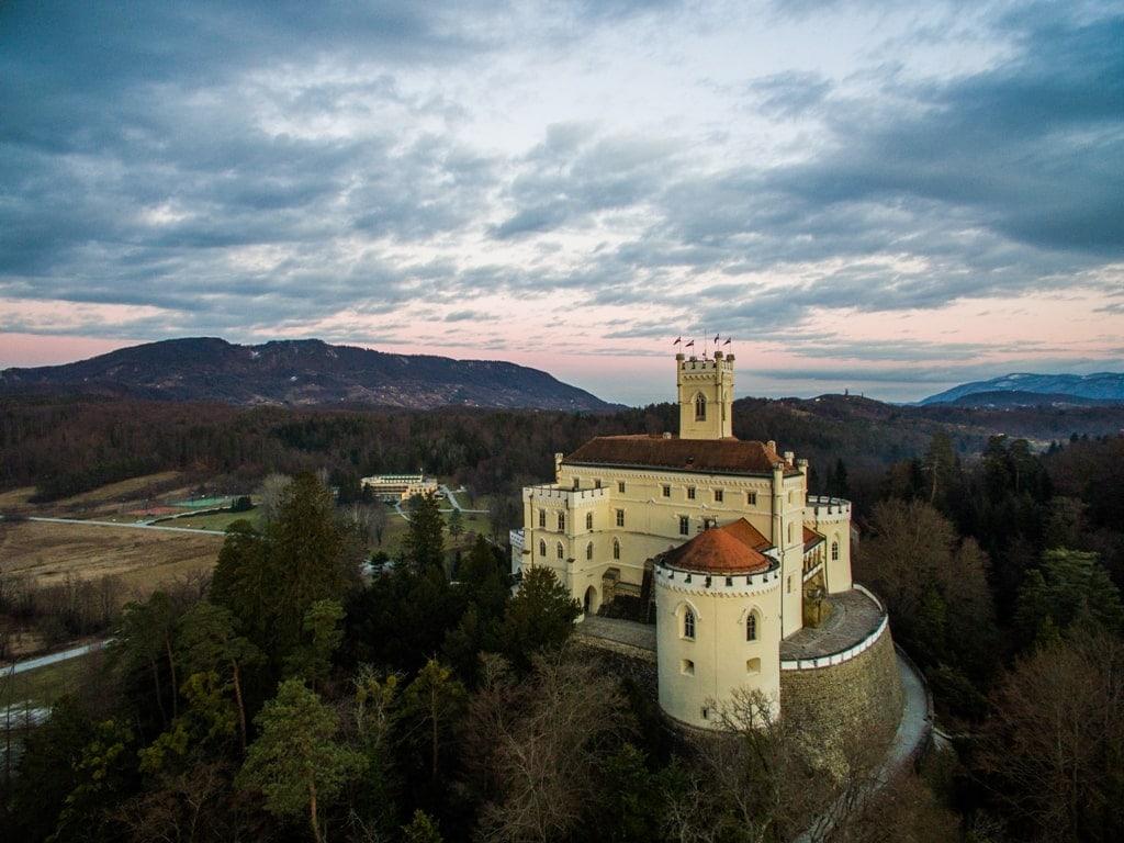 top castles in Europe - TRAKOŠĆAN CASTLE Croatia in