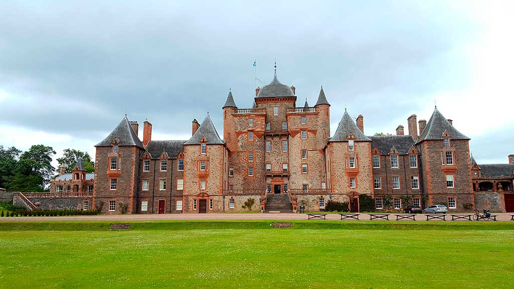 Famous Castles in Scotland Thirlestane-Castle