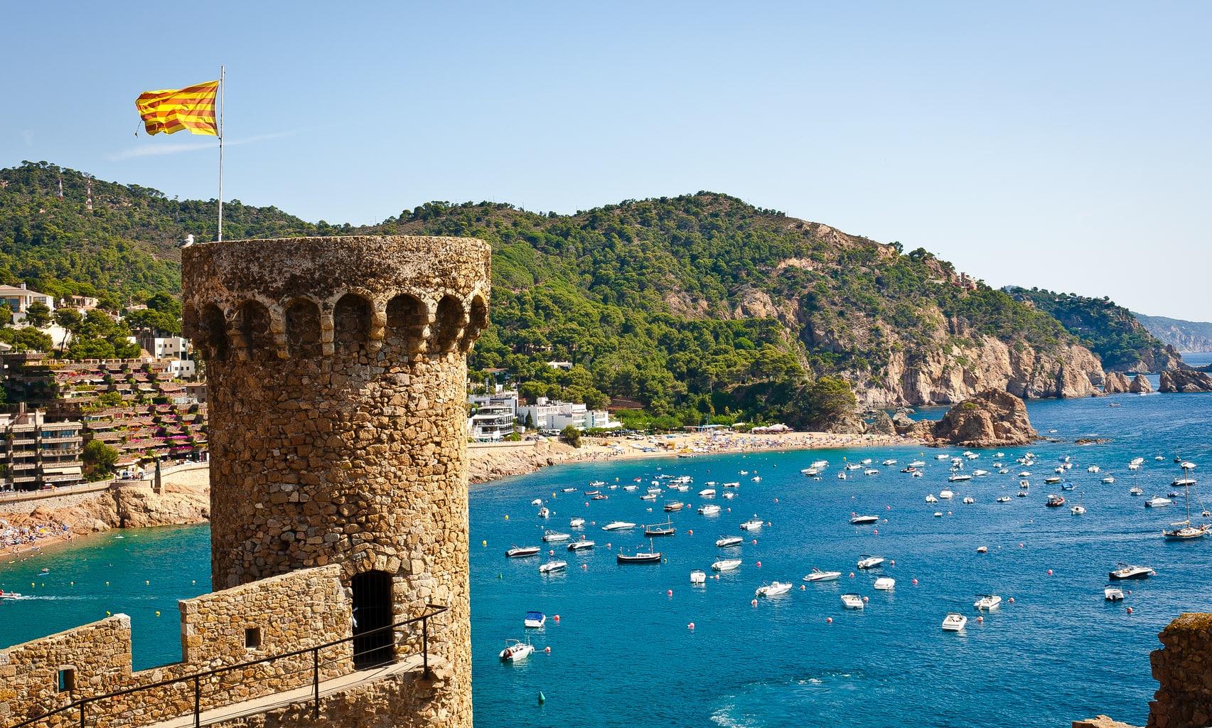 Spanish Castles Tossa de Mar
