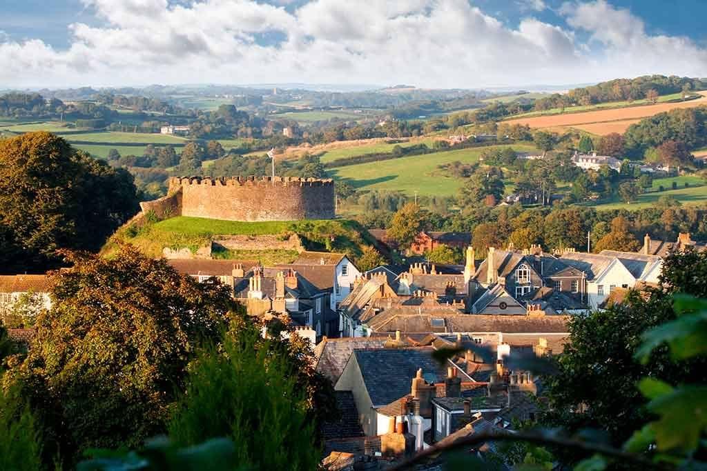 Best English Castles Totnes-Castle