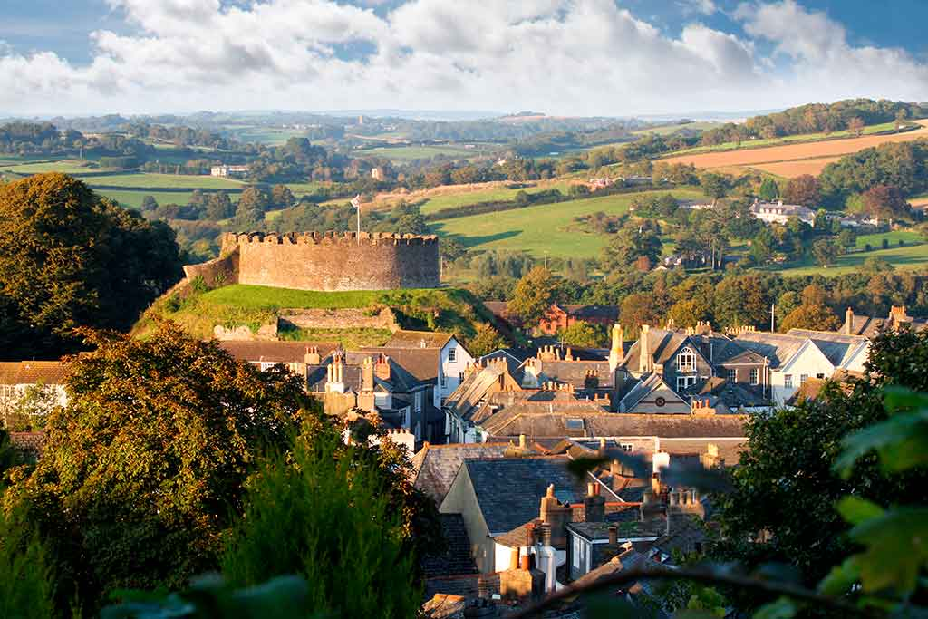Best English Castles Totnes-Castle