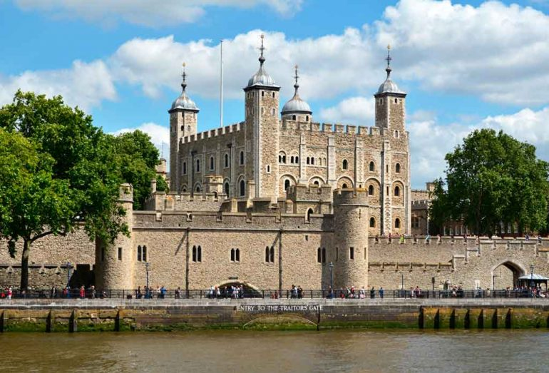 English Castles Tower of London