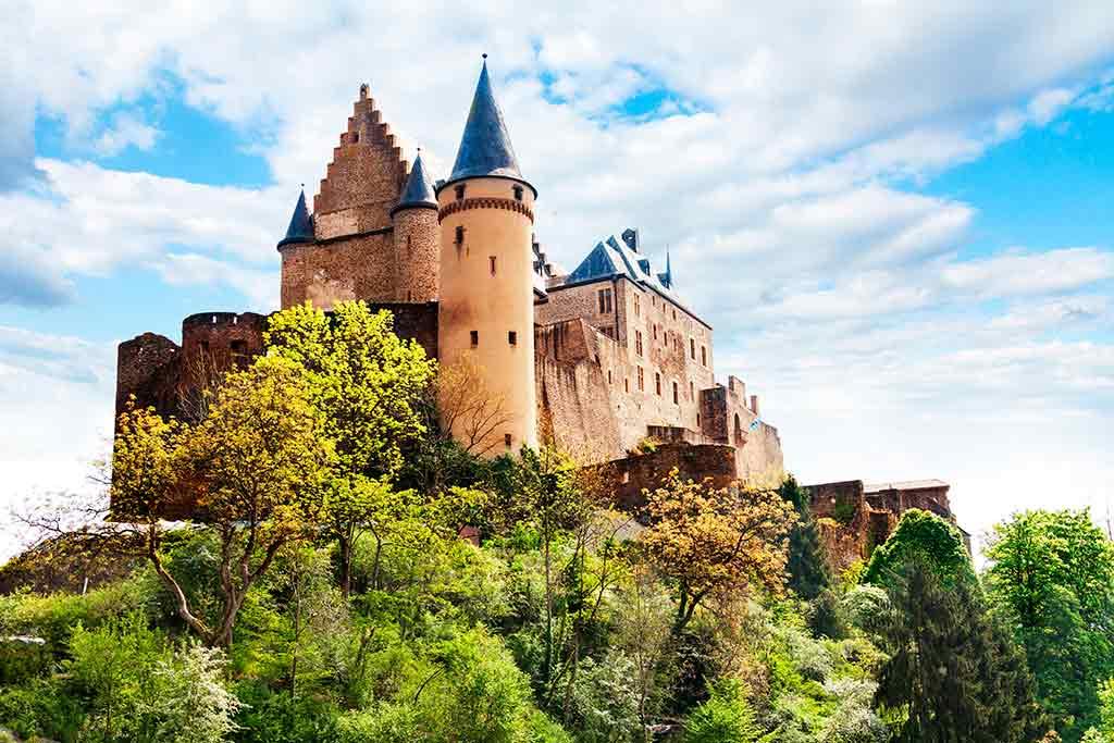 Best Luxembourger Castles Vianden-Castle