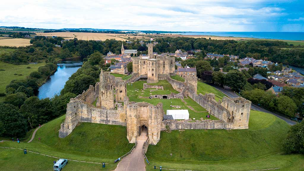 English Castles Warkworth Castle