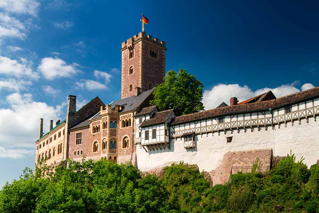Castles in Germany Wartburg-Castle