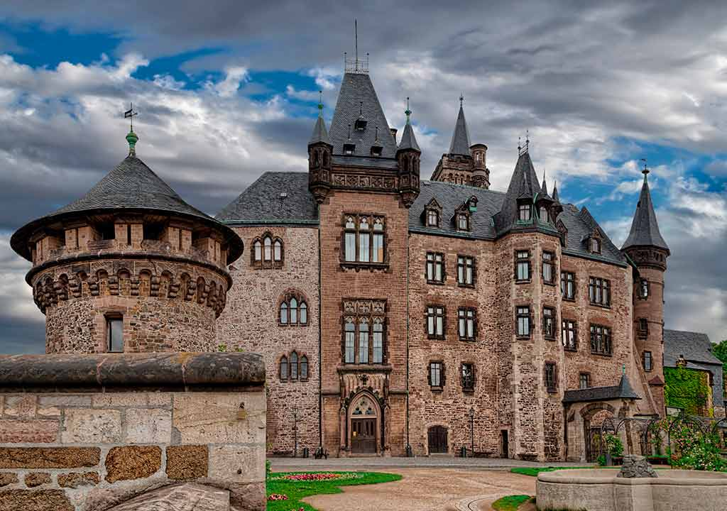 Best Castles in Germany Wernigerode-Castle
