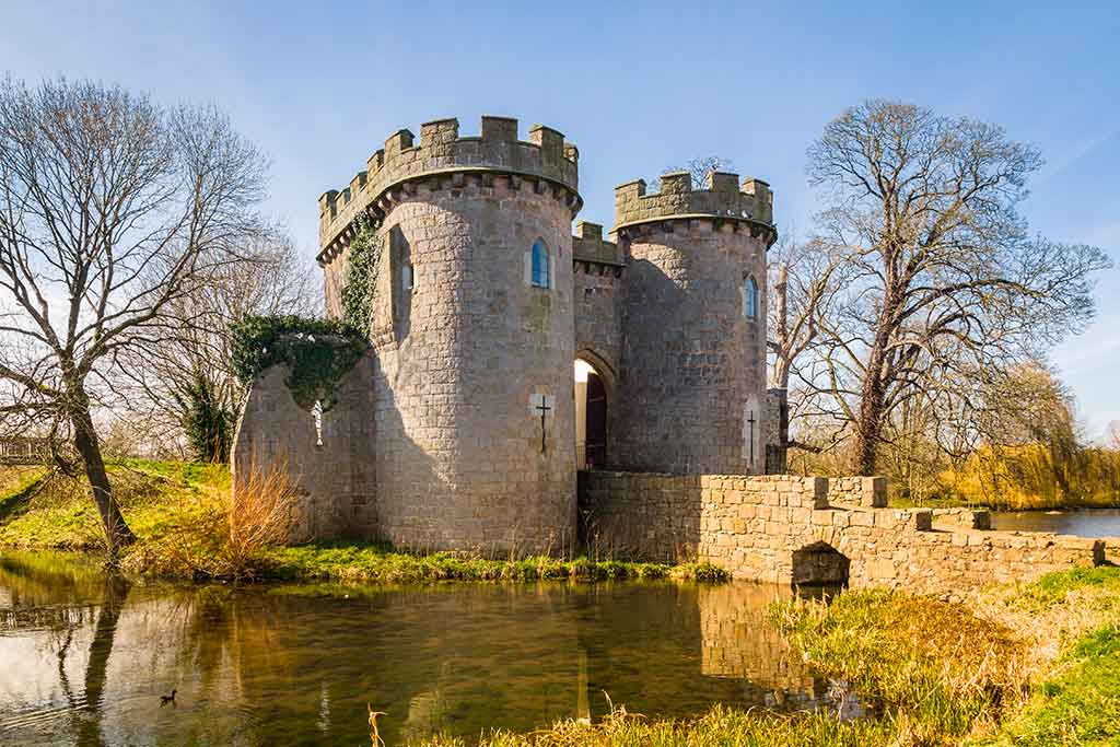 Best Castles in England Whittington-Castle